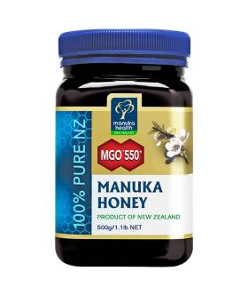 Miód Manuka MGO550+ (500g) - Manuka Health New Zealand