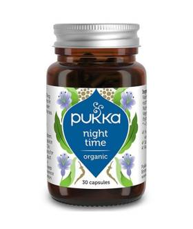 Nocny Spokój Night Time (30 kaps) - Pukka